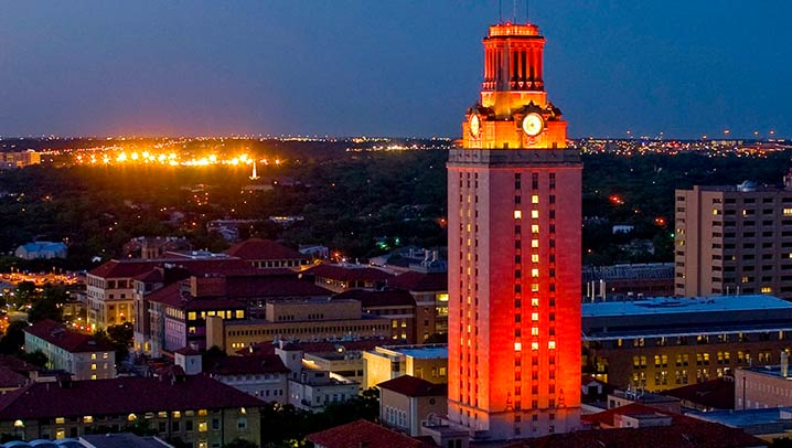 University of Texas at Austin Canvas Learning Management System